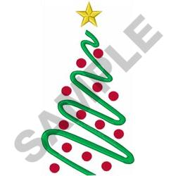 LARGE CHRISTMAS TREE embroidery design