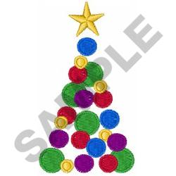 SMALL CHRISTMAS TREE embroidery design