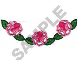 CUTWORK ROSE BORDER embroidery design