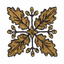 METALLIC FLORAL DESIGN embroidery design