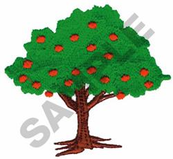 ORANGE TREE embroidery design