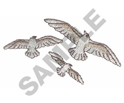 BIRDS embroidery design