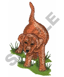 PUPPY 14 embroidery design