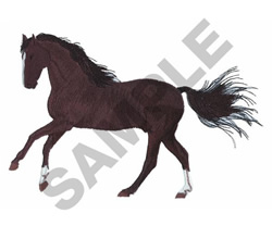 HORSE(LG) embroidery design