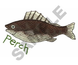 PERCH embroidery design