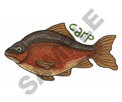 CARP embroidery design
