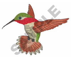 HUMMINGBIRD Embroidery Designs Machine Embroidery Designs