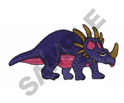 TRICERATOPS embroidery design