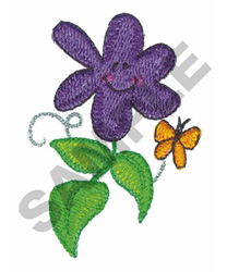 SMILING FLOWER embroidery design