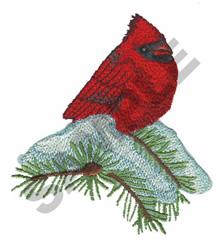 WINTER CARDINAL embroidery design