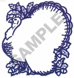HALLOW TURKEY embroidery design