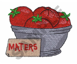 MATERS embroidery design
