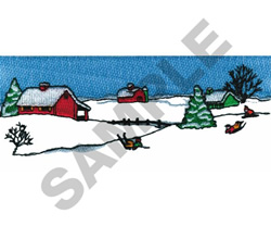 WINTER PLAY embroidery design
