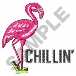 CHILLIN embroidery design