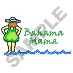 BAHAMA MAMA embroidery design