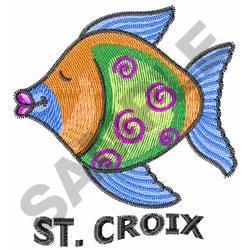 ST. CROIX embroidery design