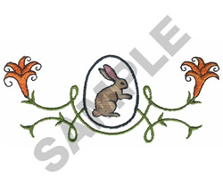 EASTER MOTIF embroidery design