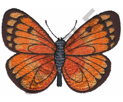 SMALL BUTTERFLY embroidery design