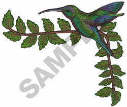 HUMMING BIRDS embroidery design