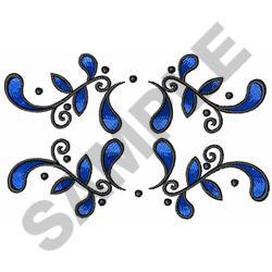 BANDANA BORDER embroidery design