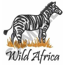 WILD AFRICA embroidery design