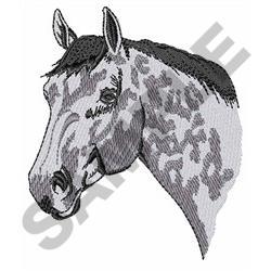 APPALOOSA HEAD embroidery design