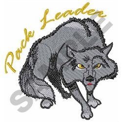PACK LEADER embroidery design