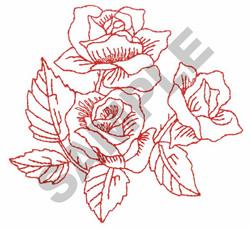 Rose toile embroidery designs machine embroidery designs at embroiderydesign - Toile triptyque design ...
