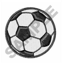 SMALL SOCCER BALL embroidery design