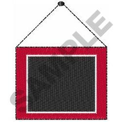 CHALKBOARD NAMEDROP embroidery design