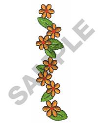 DAISY BORDER embroidery design