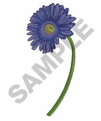 PURPLE GERBER DAISY embroidery design