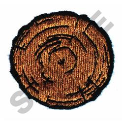 LOG END embroidery design