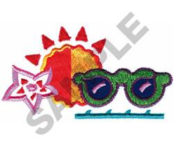 SUMMER LOGO embroidery design