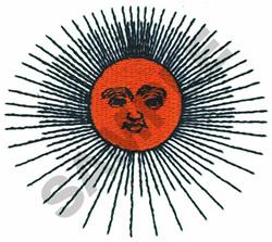 SUN embroidery design