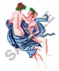 GREEK LOVE SYMBOL embroidery design