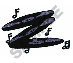 RECORD ALBUMS embroidery design
