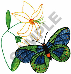 BUTTERFLY #20 embroidery design