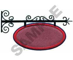 SIGN embroidery design