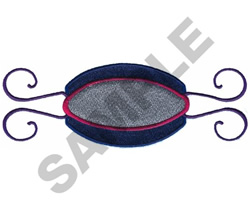 BORDER WITH SHIELD embroidery design