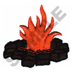 CAMP FIRE (PUFFY FOAM) embroidery design