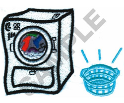 DRYER embroidery design