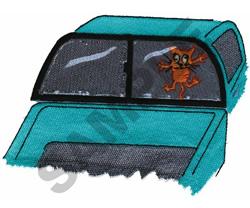 CRAZY DRIVER embroidery design