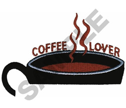 COFFEE LOVER POCKET TOPPER embroidery design