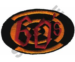 60S embroidery design