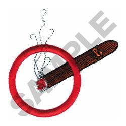 SMOKING embroidery design