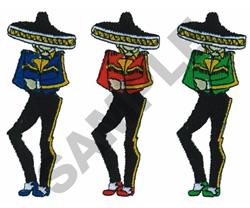 MARIACHIS embroidery design