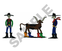 RANCH HANDS embroidery design