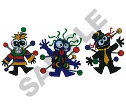 MO VOODOOS embroidery design