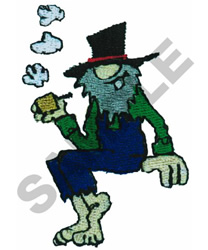 PUFFIN HILLBILLY embroidery design
